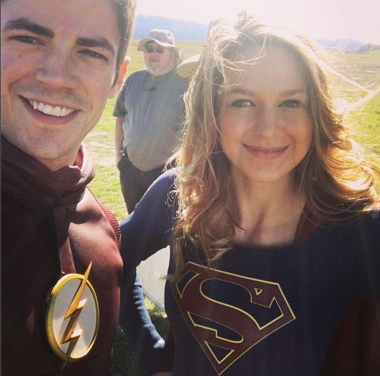 Flash Supergirl0