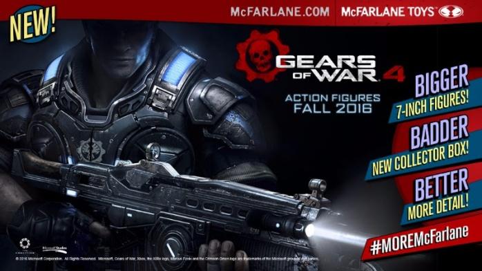 Gears of War McFarlane Toys