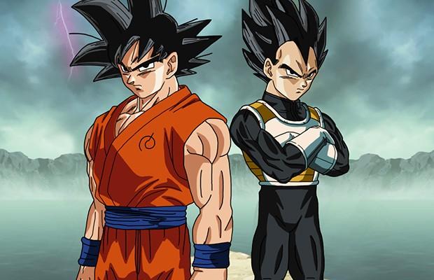 Goku y Vegeta A