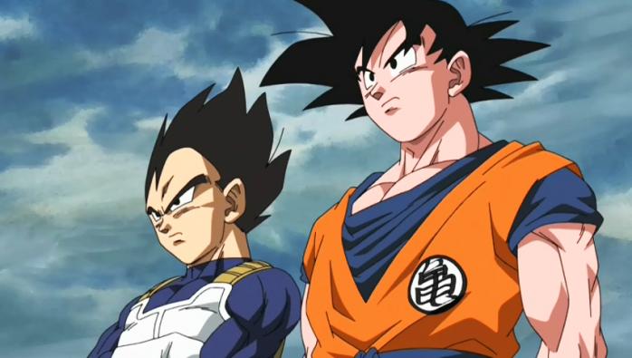 Goku y Vegeta B