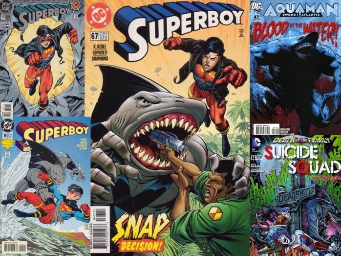 KingShark comic DC