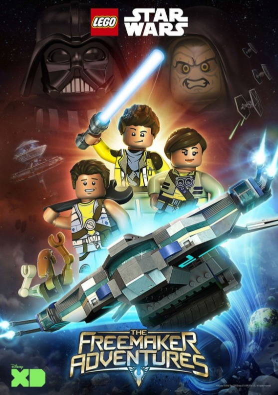 Lego Star Wars The Freemaker Adventures Poster