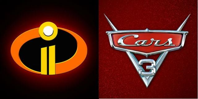 Los increíbles 2 & Cars 3