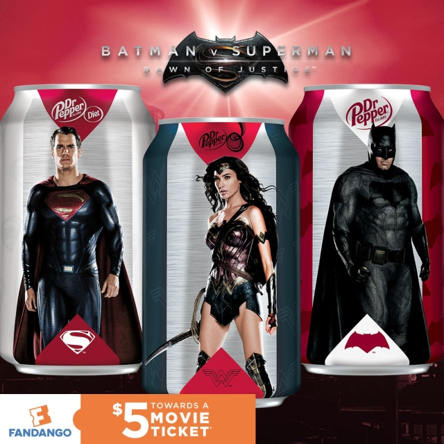 Marvel y DC latas limitadas Batman V Superman 02