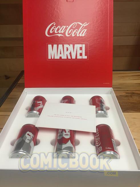 Marvel y DC latas limitadas Marvel 02