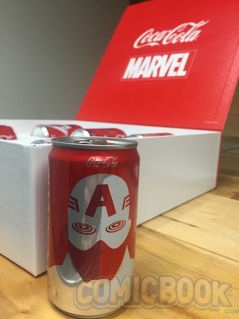Marvel y DC latas limitadas Marvel 07