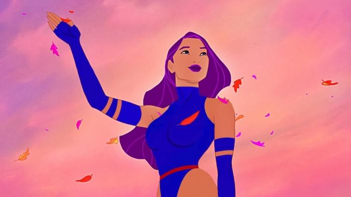 Pocahontas Psylocke Mariposa Mental