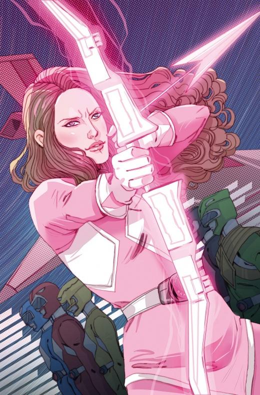 Power Ranger Rosa 2
