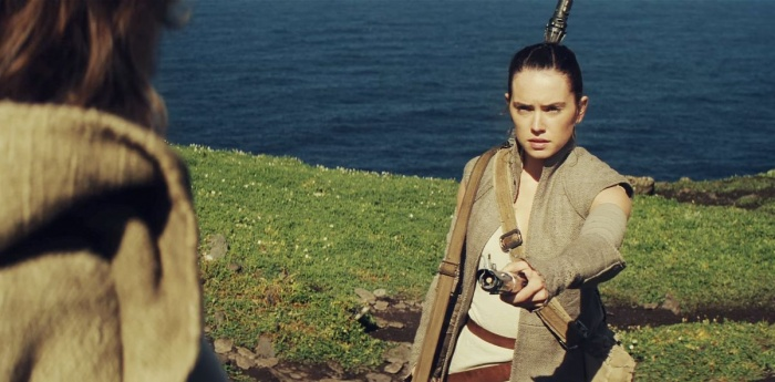Rey with Luke
