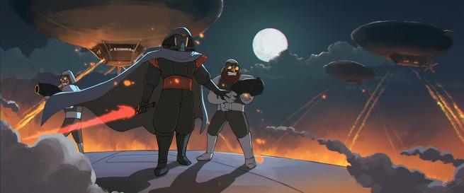 Star Wars como si fuera de Ghibli 03