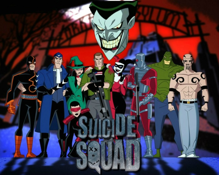Suicide Squad and Joker Animated Universe ok
