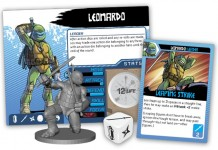 TMNT SHADOWS OF THE PAST leonardo pack