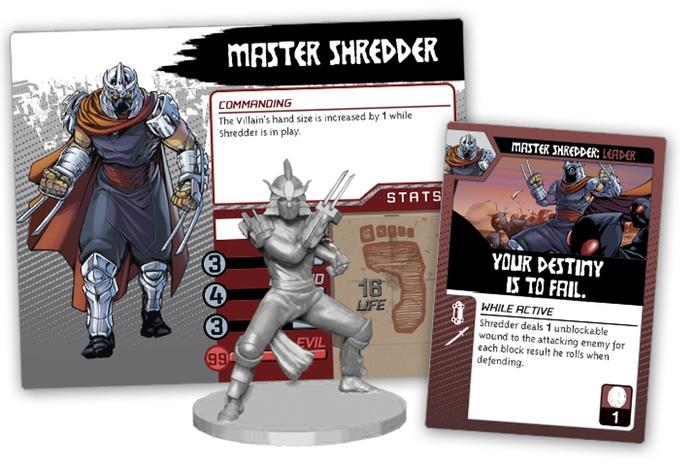 TMNT SHADOWS OF THE PAST shredder pack