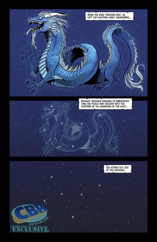 The Mighty Zodiac Página interior (1)