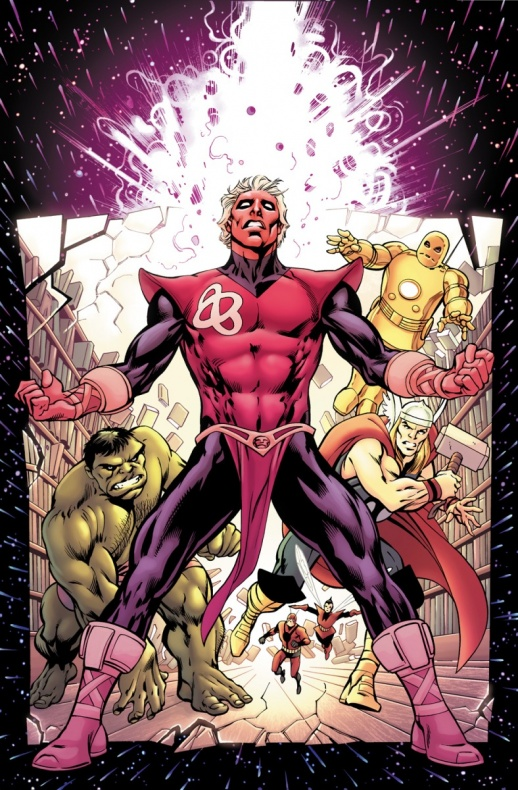 The Infinity Entity 1 Cover