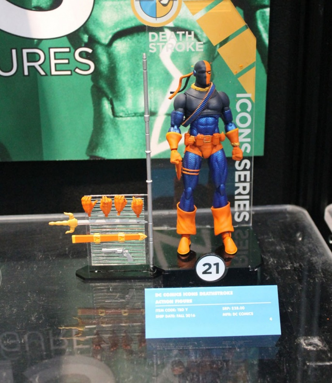 Toy Fair Deathstroke
