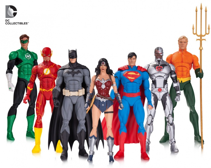 Toy Fair Justice League