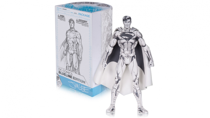 Toy Fair Superman Blueline
