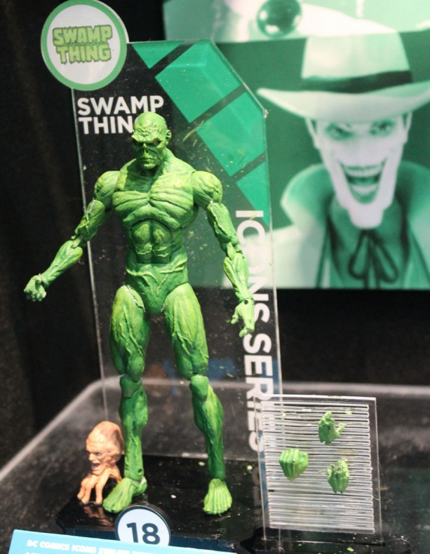 Toy Fair Swamp Thing