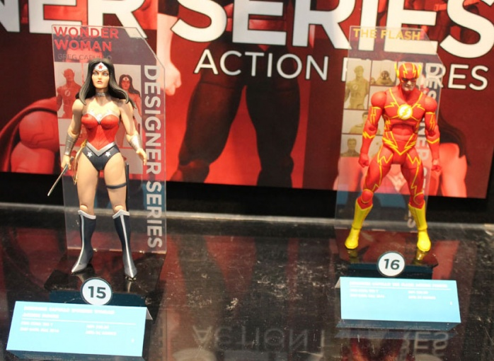 Toy Fair Wonder Woman y Flash