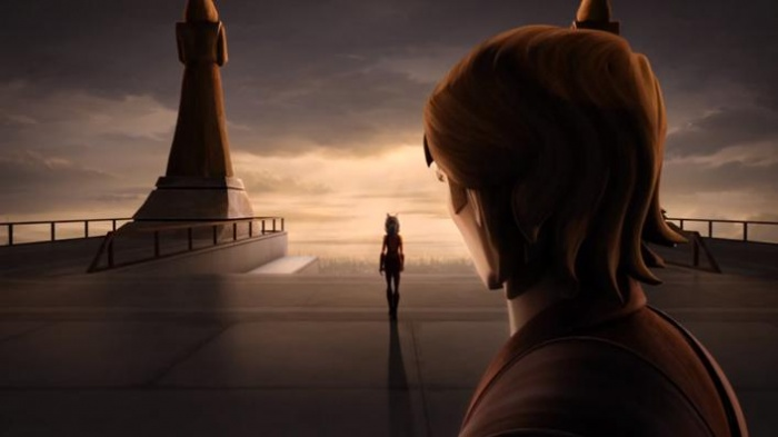Ahsoka Tano Anakin Skywalker