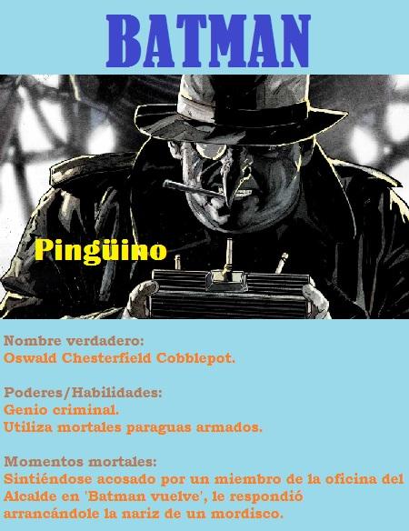 Batman5 Pingüino