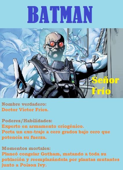Batman6 Señor Frío