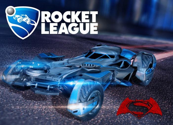 Rocket League Batman V Superman