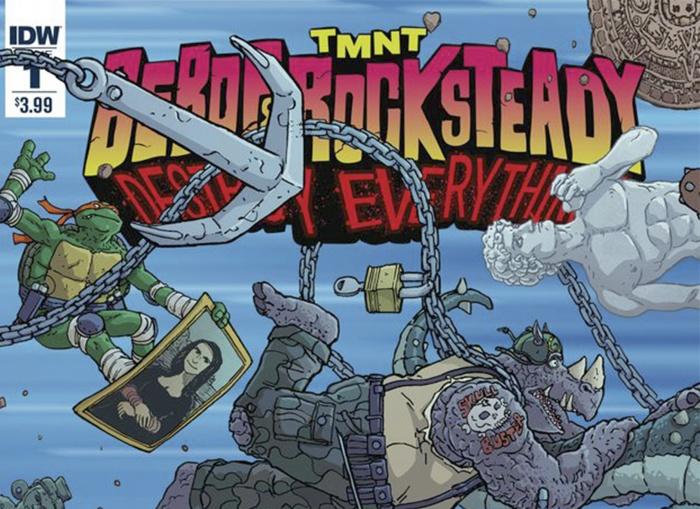 'Bebop & Rocksteady Destroy Everything' Destacada