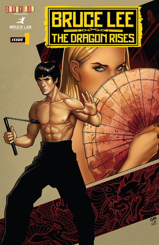 Bruce Lee portada 2 Frank Cho