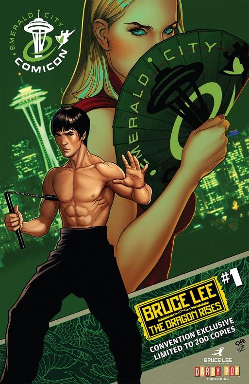 Bruce-Lee portada 3 Frank Cho