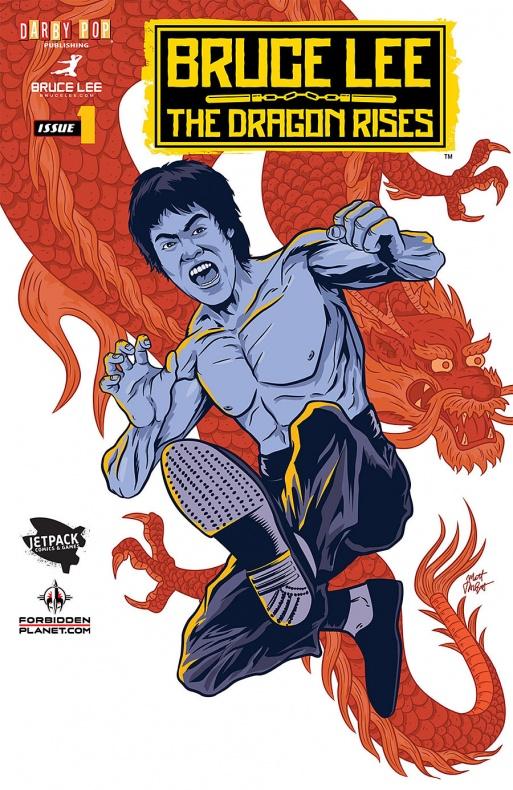 Bruce-Lee portada Jetpack Comics