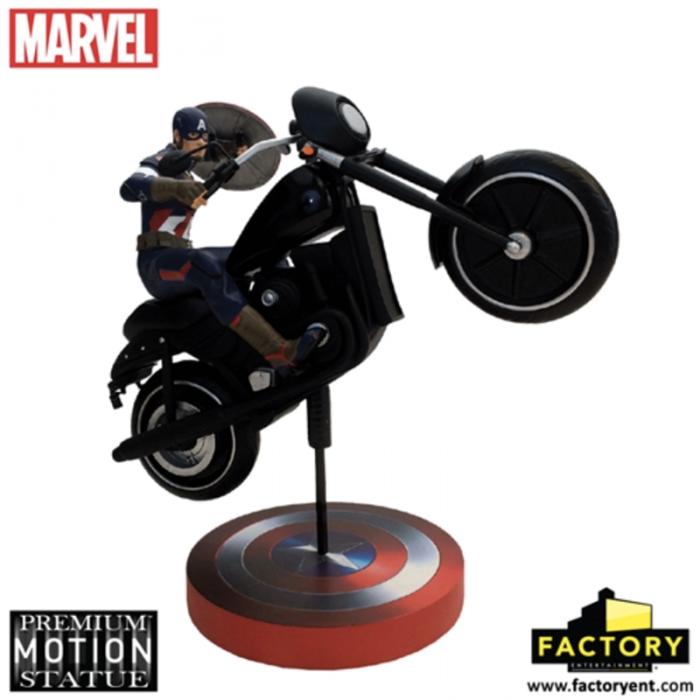 Capitan America figura premium 2