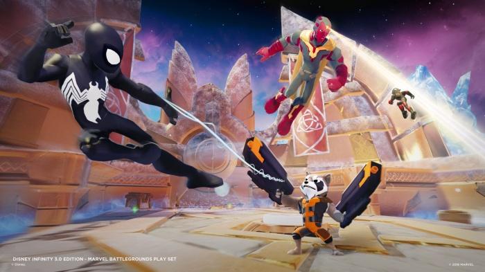 Disney Infinity Marvel  Battlegrounds Imágenes juego 01