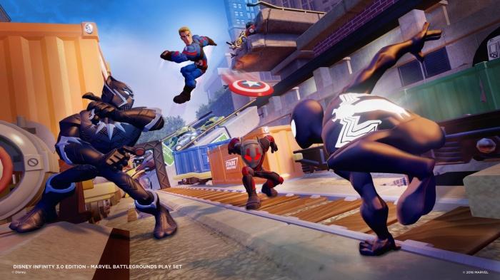 Disney Infinity Marvel  Battlegrounds Imágenes juego 02