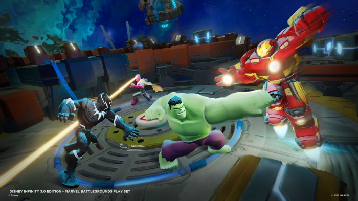 Disney Infinity Marvel  Battlegrounds Imágenes juego 03