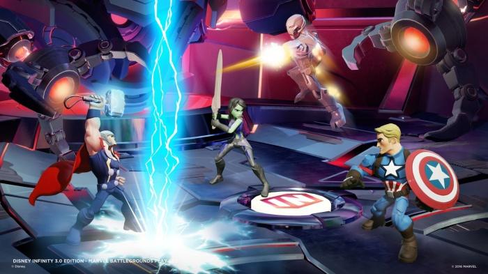 Disney Infinity Marvel  Battlegrounds Imágenes juego 04