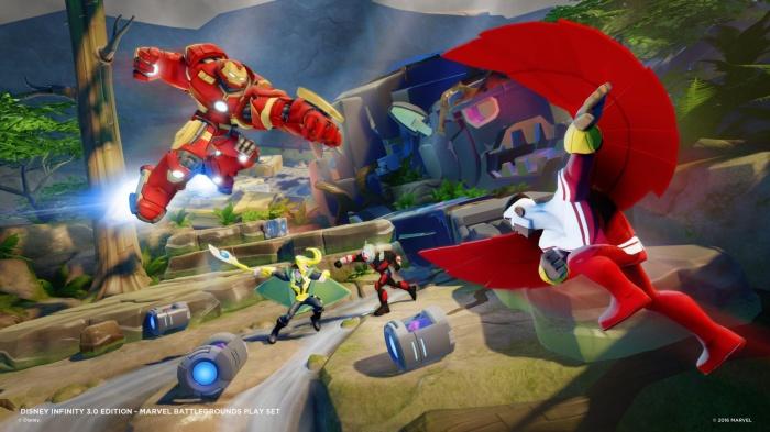 Disney Infinity Marvel  Battlegrounds Imágenes juego 05