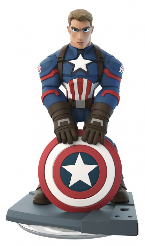 Disney Infinity Marvel  Battlegrounds nuevas figuras Capitán América Winter Soldier