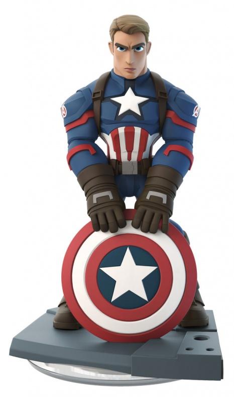Disney Infinity Marvel  Battlegrounds nuevas figuras Capitán América Winter Soldier