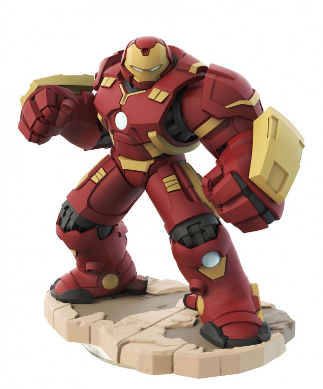 Disney Infinity Marvel  Battlegrounds nuevas figuras Hulkbuster