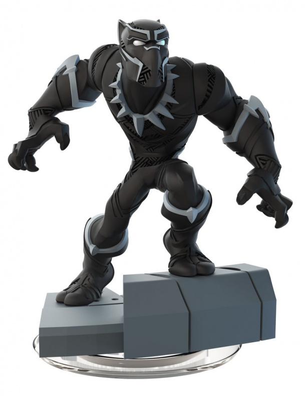 Disney Infinity Marvel  Battlegrounds nuevas figuras Pantera Negra