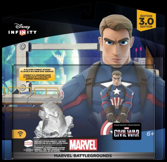 Disney Infinity Marvel  Battlegrounds nuevas figuras Set