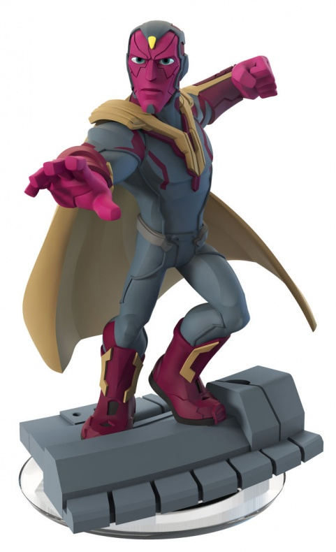Disney Infinity Marvel  Battlegrounds nuevas figuras Visión