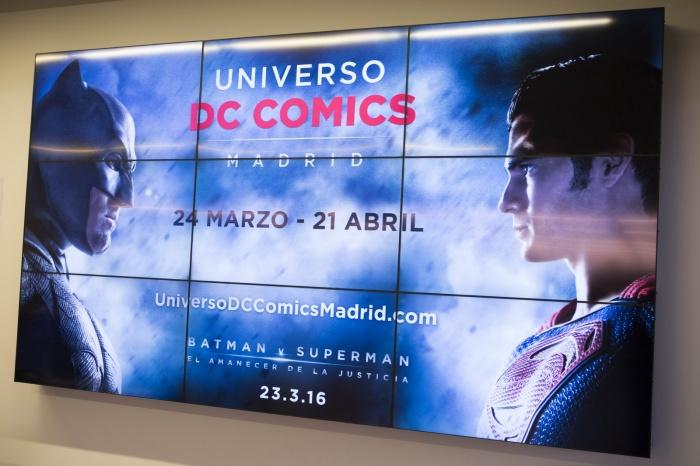 Superman y Batman aterrizan en Madrid