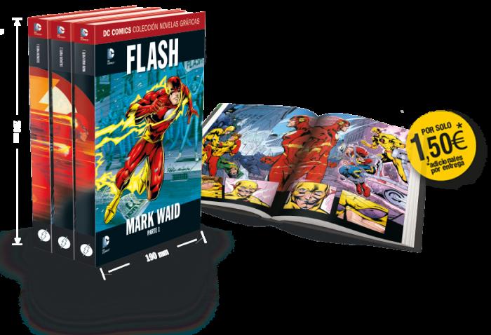 1-7 - [DC - Salvat] La Colección de Novelas Gráficas de DC Comics  - Página 3 Flash-libros