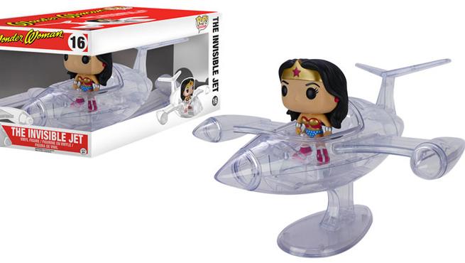 Funko Wonder Woman jet invisible
