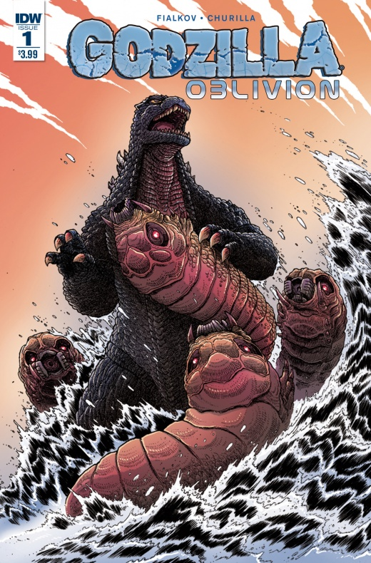 Godzilla Oblivion Portada de James Stokoe