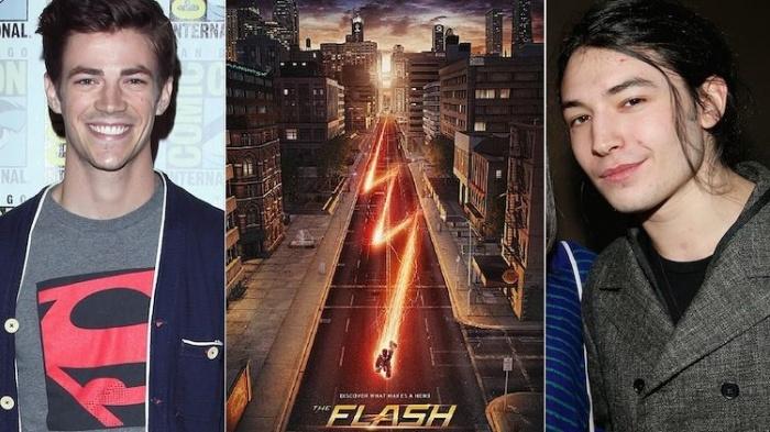 Gran Gustin Ezra Miller The flash