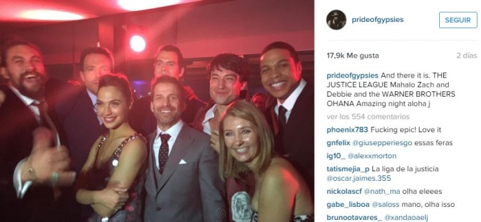 Justice League Cast1